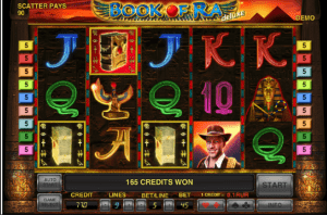 Book of Ra Slot screenshot