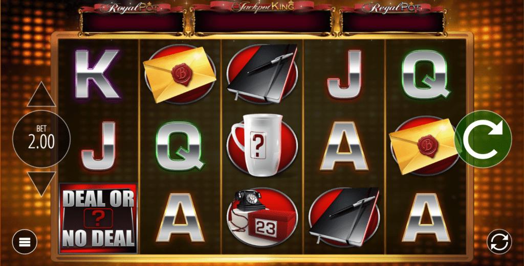 Deal or No Deal Slot Bildschirmfoto