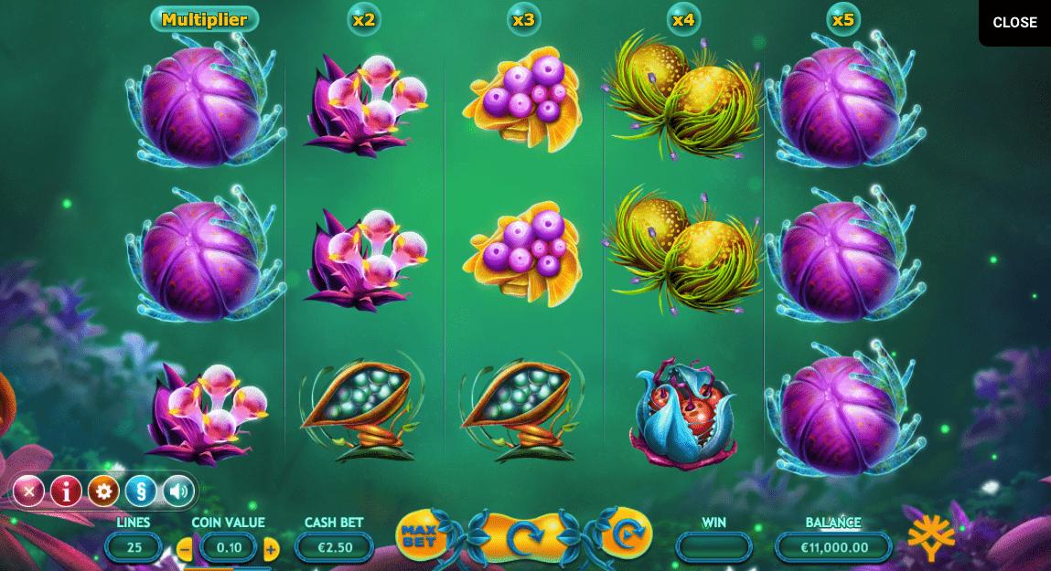 Fruitoids Spielautomaten