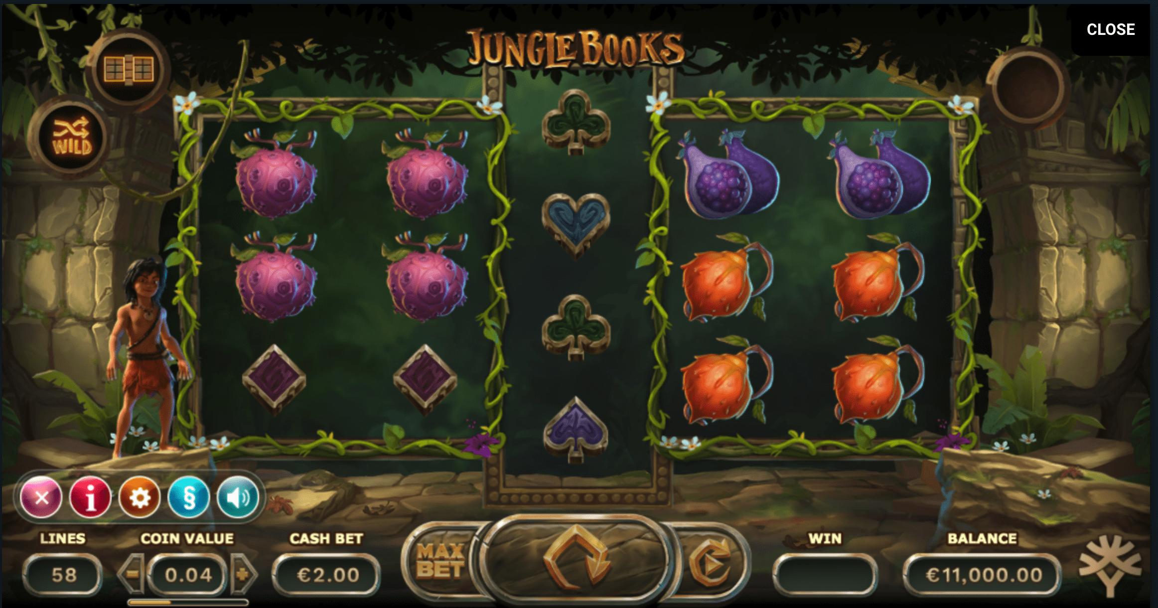 Jungle Books Spielautomat