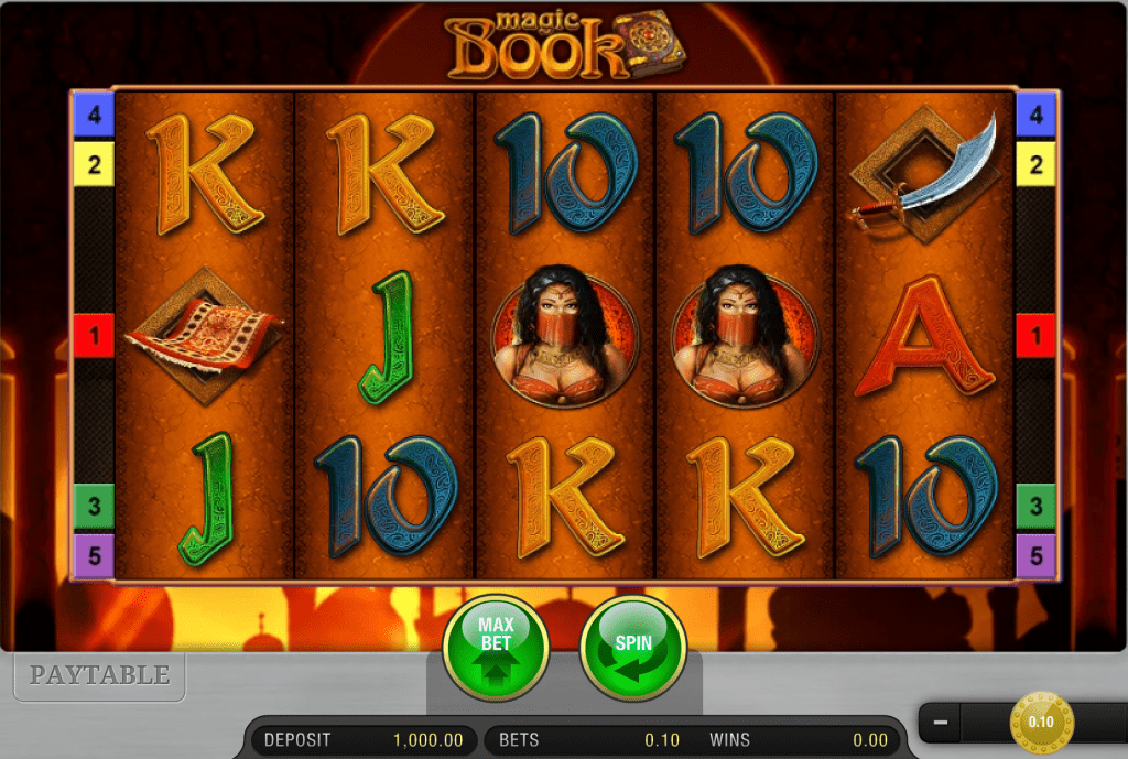 Magic Book Screenshot