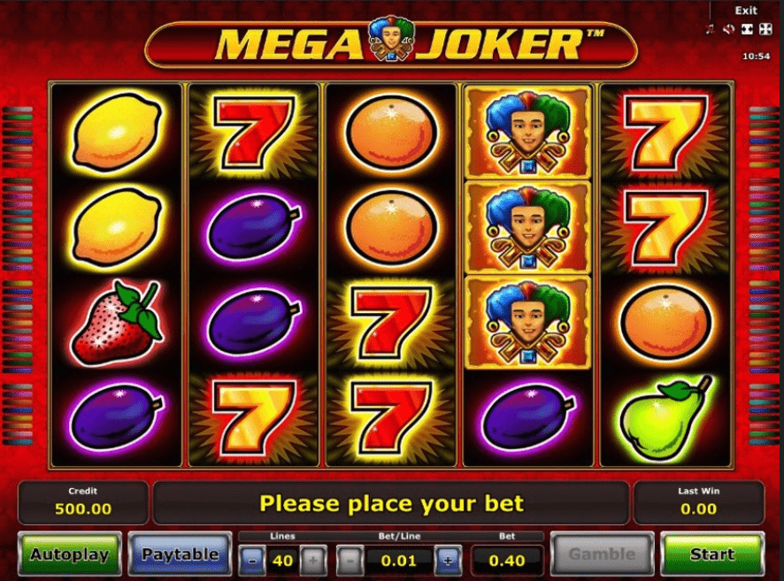 Mega Joker Screenshot
