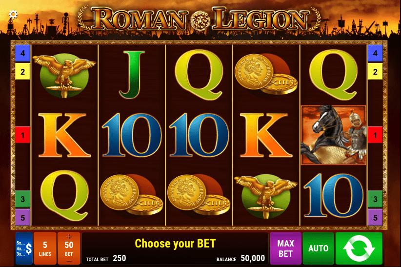 Roman Legion Slot Screenshot
