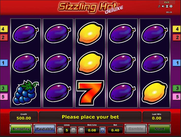 Sizzling Hot Screenshot